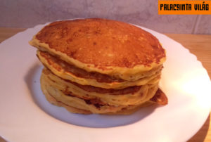 Parmezános sütőtökös palacsinta