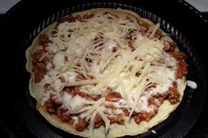 lasagne palacsintatésztából összeállítása