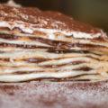 mascarponés nutellás palacsinta torta