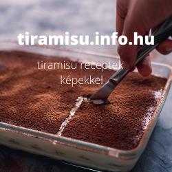 tiramisu receptek